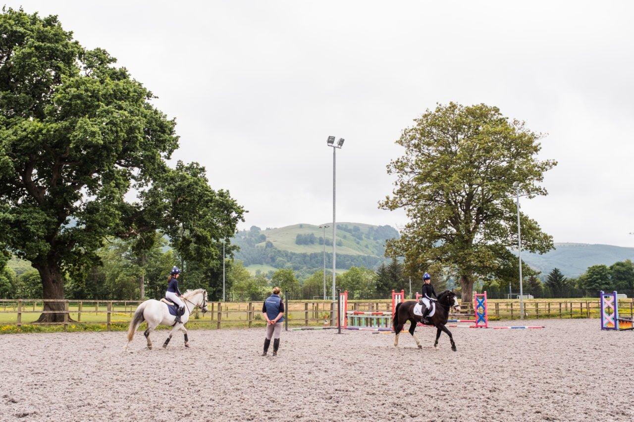 Best schools for horse lovers Kilgraston Equestrian Centre