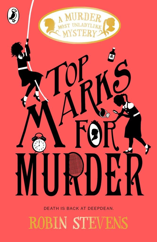Top Marks for Murder Robin Stevens interview