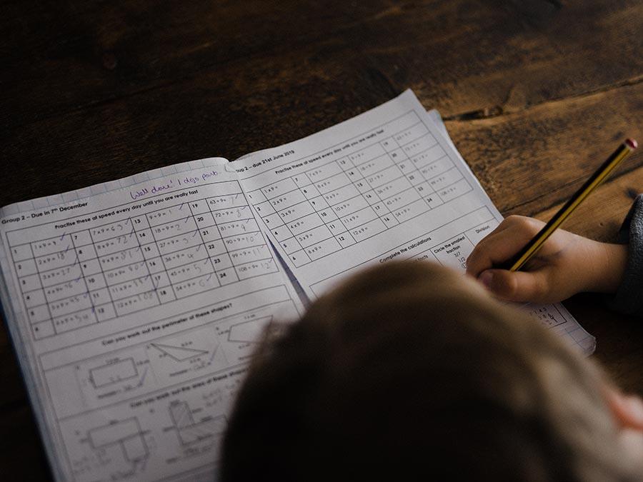 Boy Maths Test