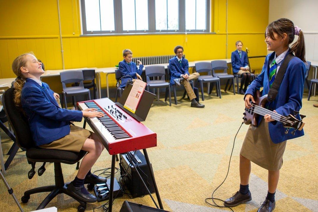 Fresh start – new beginnings at Maida Vale School